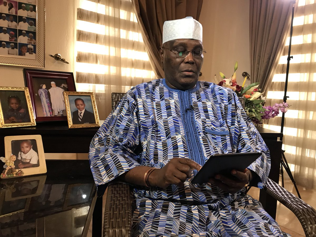 Breaking! Atiku Abubakar formally rejoins PDP (video)