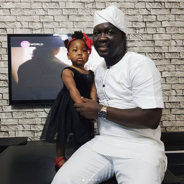 Lovely photos of Seyi Law and his beautiful daughter
