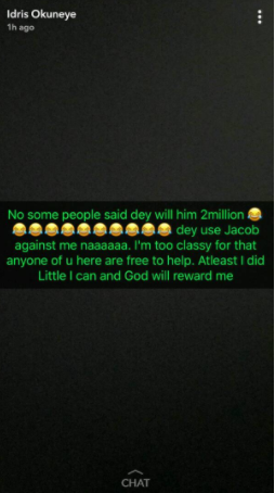 Uh huh! Bobrisky falls out with his gate-man, Jacob, accuses him of scamming him of over N60k