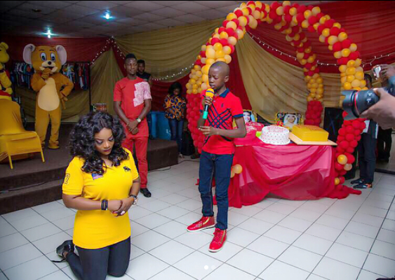5a256eff10255 - Empress Njamah birthday celebration with the less privileged