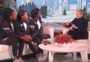Nigerian Bobsled Team appear on Ellen DeGeneres show (video)
