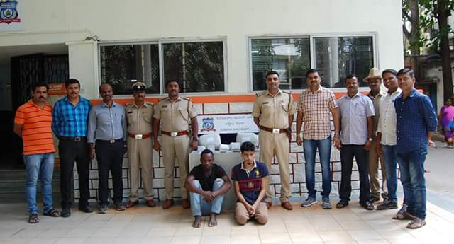 Photos: Nigerian national arrested in India for drug peddling