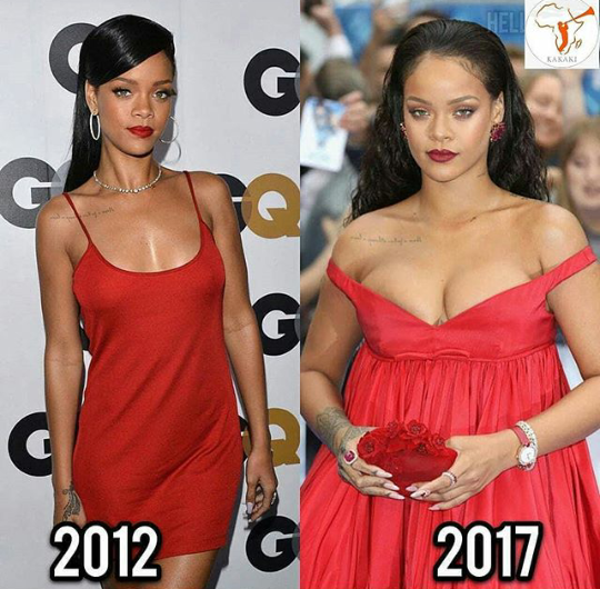 Rihanna then and now: which do you prefer?
