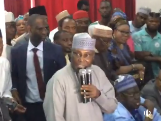 Photos: Atiku Abubakar visits PDP headquarters, expected to pick his membership card today