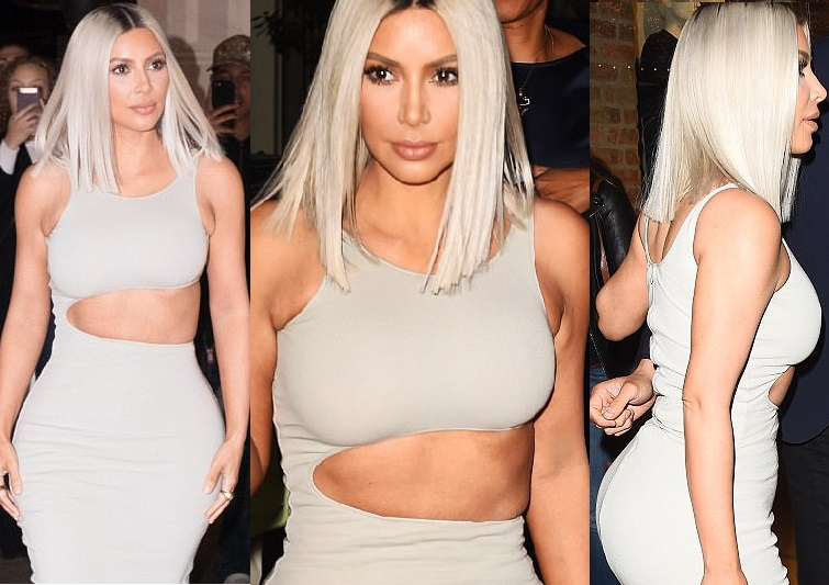 See how Kim Kardashian stepped out to Children