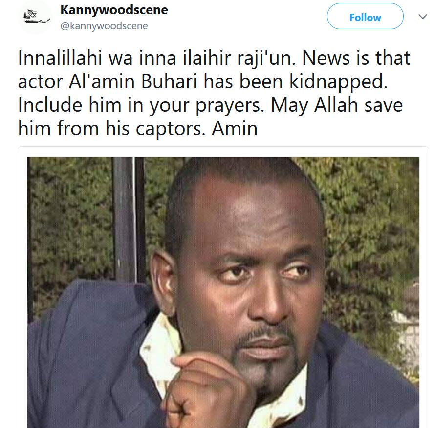 Nigeria?s Kannywood actor, Al