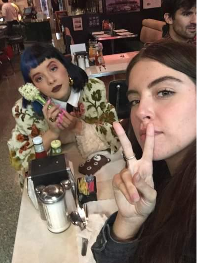 Beautiful female singer, Melanie Martinez is accused of defiling one of her female fans