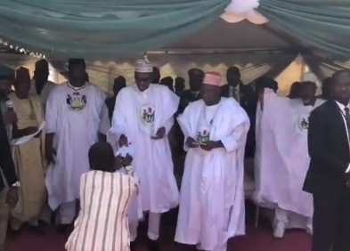 Photo: President Buhari pardons 500 prison inmates in Kano