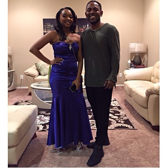Kendrick Lamar's 17 year old sister gives birth to her second child