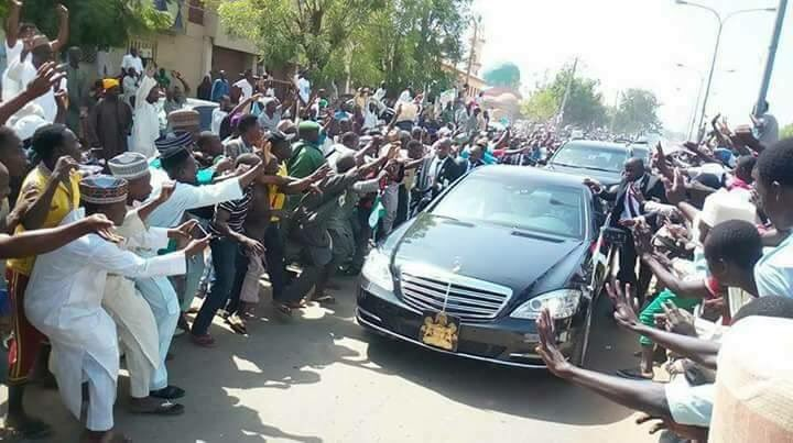 ?If elections are contested again, I?ll win? - President Buhari says after seeing the crowd that welcomed him in Kano