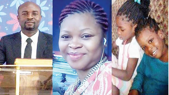 See photos of a pastor, his wife and two children burnt to death in Lagos