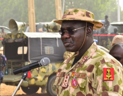 Nigerian Army?removes?the Theatre Commander of the Operation Lafiya Dole in fight against Boko Haram
