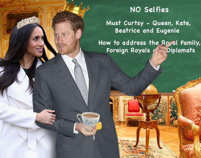 Meghan Markle is getting royal etiquette courses from Prince Harry and here are some of the rules she must understand