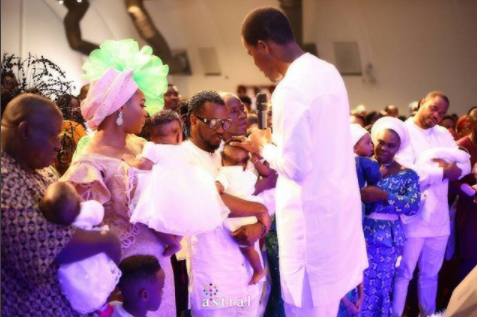More official photos from the child dedication & afterparty of Paul and Anita Okoye