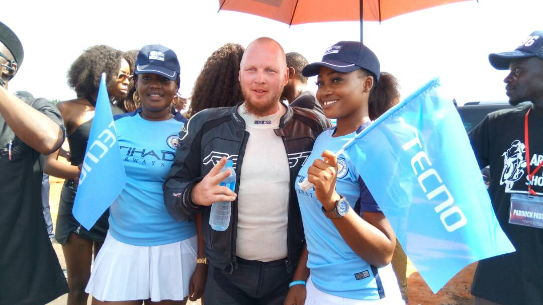 Photos: Tecno mobile sponsors the first ever