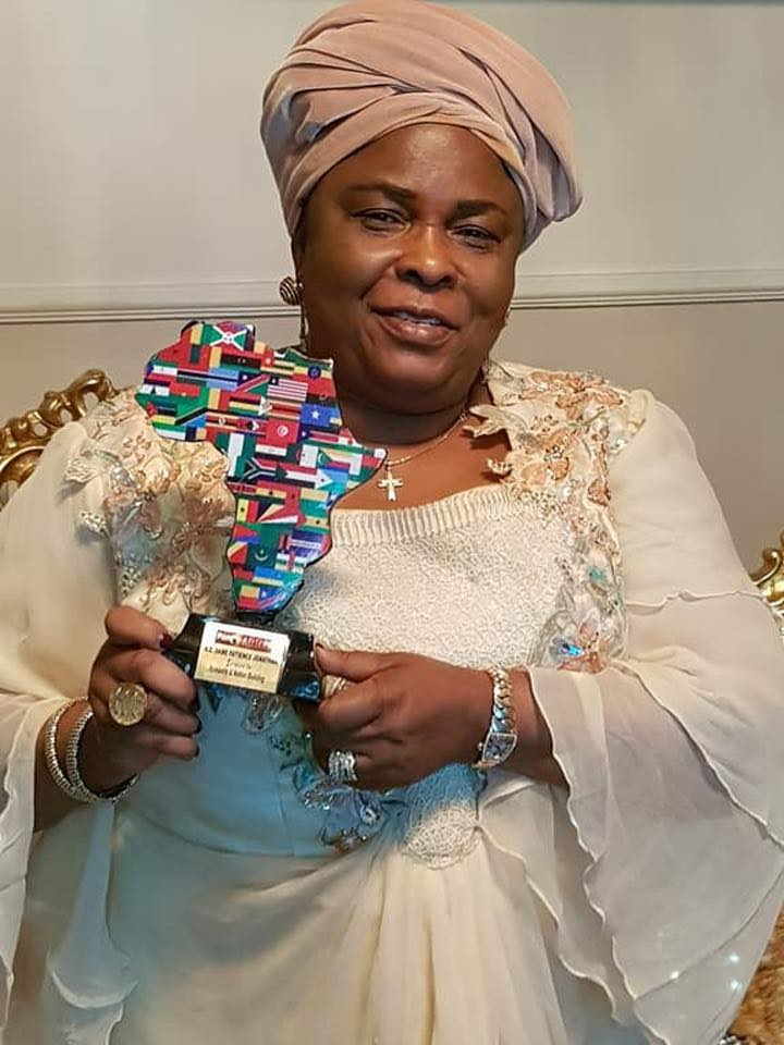 Photos: Patience Jonathan bags international award