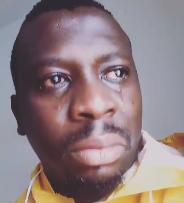 Hilarious Video: Imo state indigene weeps profusely over Rochas Okorocha actions