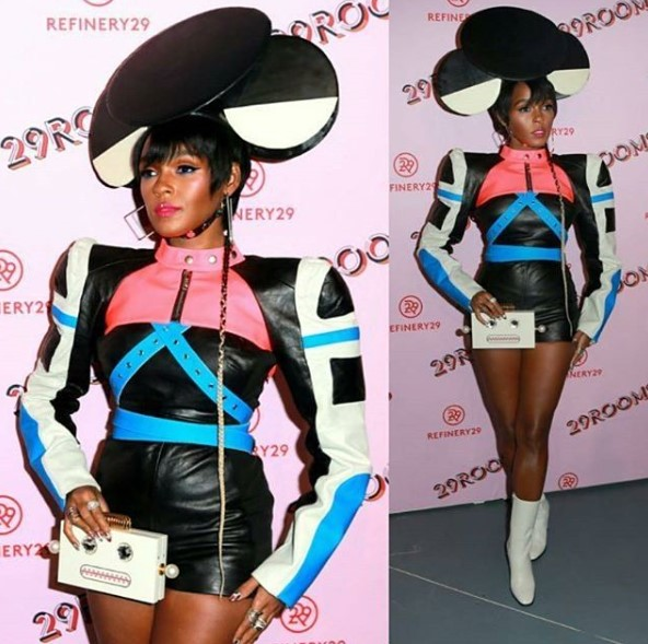 Janelle Monae slays for Refinery29?s art event
