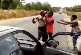 FRSC reacts to video of its male officer fighting with a female passenger on the highway