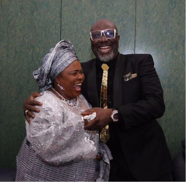 Lol! Caption this photo of Patience Jonathan and Senator Dino Melaye