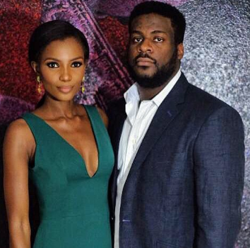 Agbani Darego finally shows us her tall and gaddmit Hot husband...(photo)