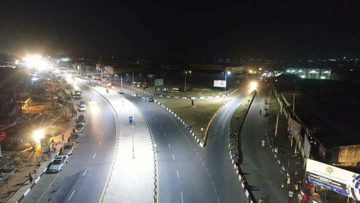 Check out the look of Osogbo at night (Photos)