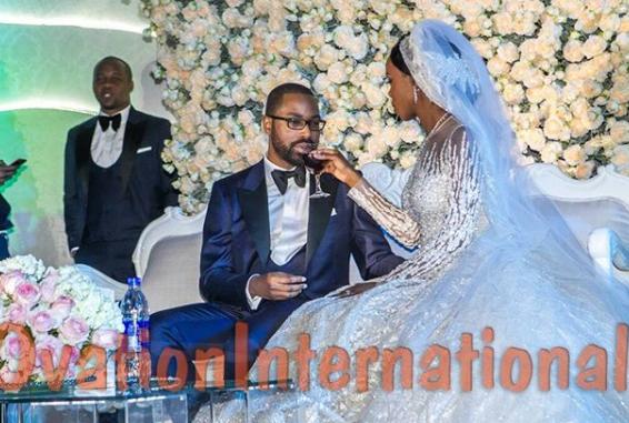 More photos from the wedding reception of Senate president, Bukola Saraki