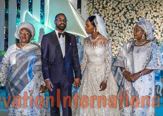 More photos from the wedding reception of Senate president, Bukola Saraki