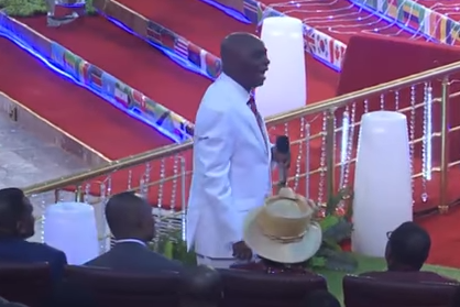 """God does not open the windows of heaven on non-tithers"" Bishop David Oyedepo says (video)"