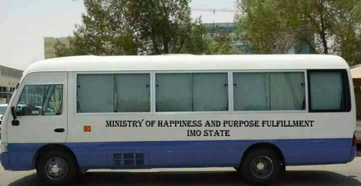 Photo: Imo state government acquires a coastal bus for it