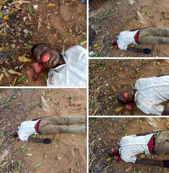 Students of Fedpoly Oko wake up to find dead body in front of their hostel