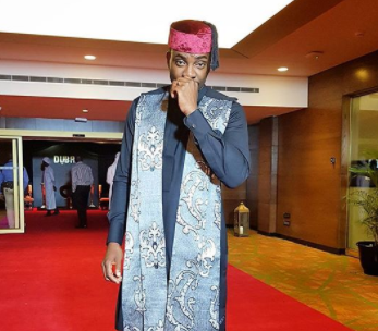Ebuka Obi-Uchendu steps out in style to host the Arabian themed premiere of