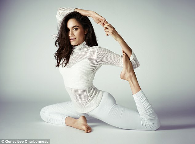 Royal bride-to-be! Meghan Markle shows off incredible flexibility in new yoga photos