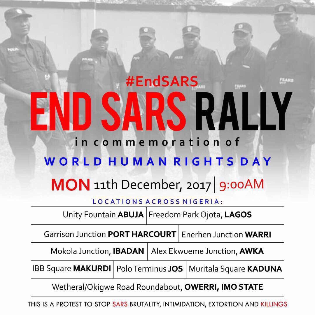 End SARS rally takes place all over Nigeria today