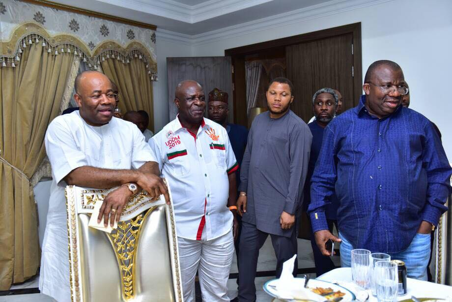 Photos from Senator Godswill Akpabio