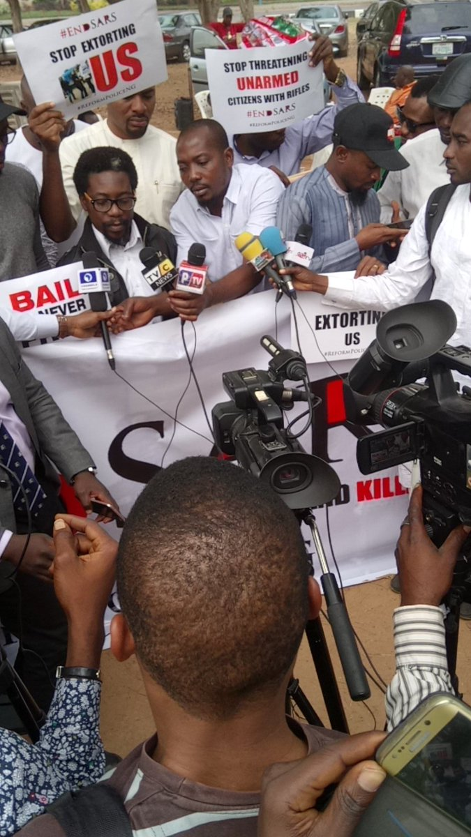Photos from #EndSARS rally nationwide