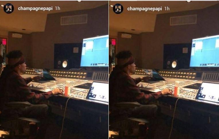 Major Key! Drake shares photo of Tekno producing a song for him