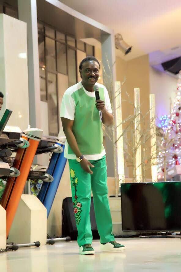 Popular clergyman, Chris Okotie, stylish in new photos