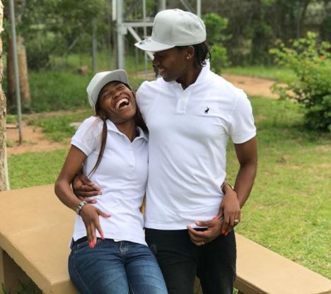 South African female athlete Caster Semenya shares loved-up photo with her lesbian wife
