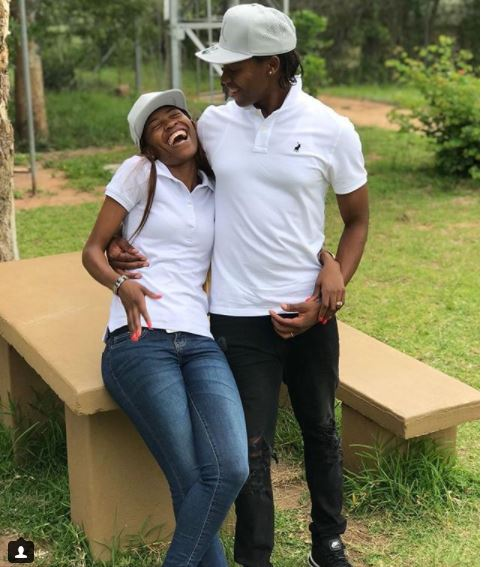 SA female athlete Caster Semenya shares loved-up photo with her lesbian wife?