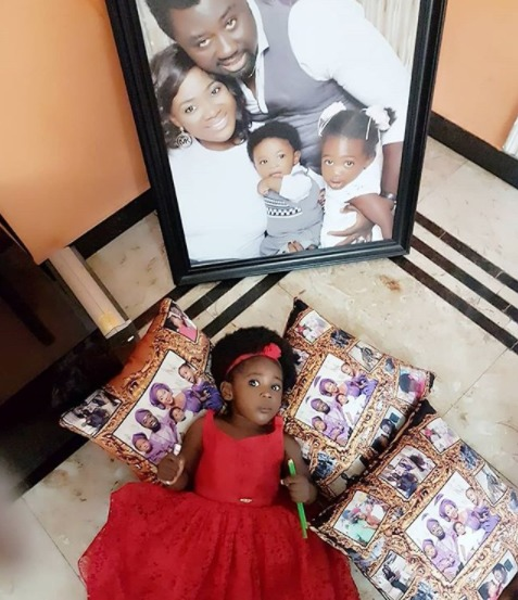 Mercy Johnson shares adorable photos of her kids as her last child, Angel turns 2