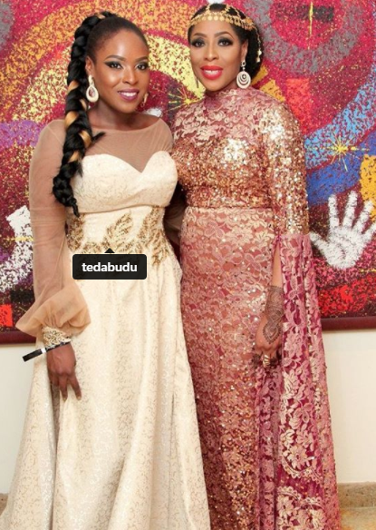 Mo Abudu and her daughter, Temidayo, serving us some mother/daughter goals in these photos