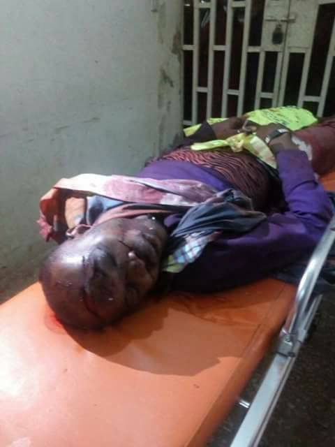 Graphic: Pastor butchered to death in Ogun state