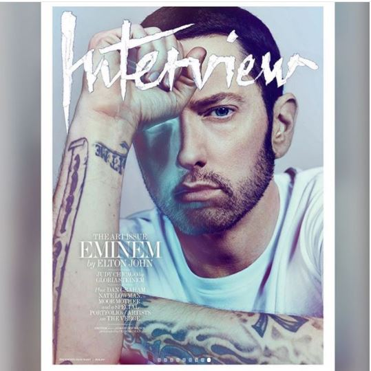 Eminem covers latest issue of