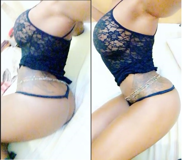 Sexy new photos of braless Maheeda in her underwear?