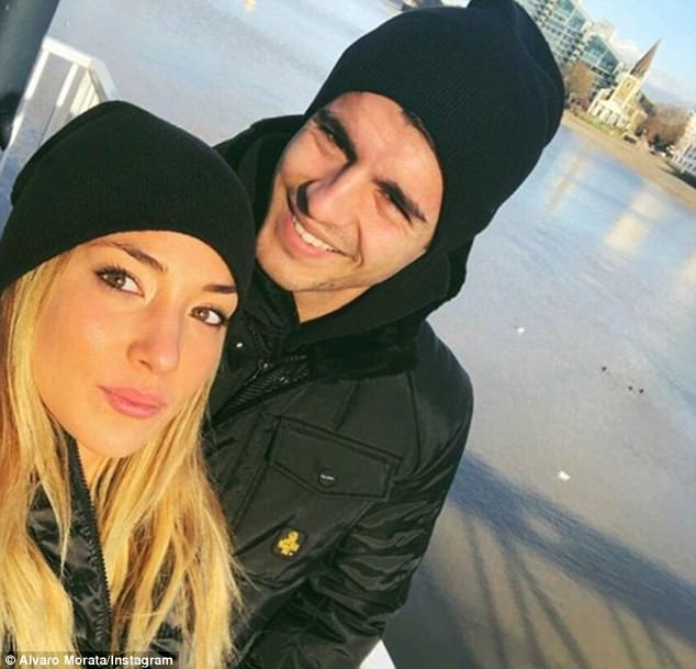Chelsea record signing Alvaro Morata set to be a father as he announces he