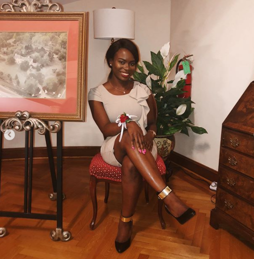 Beautiful Nigerian lady emerges the overall outstanding graduate from the University of Louisiana
