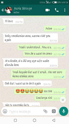 Heartbroken wife exposes lady who sent underwear photos to her husband (Photos)