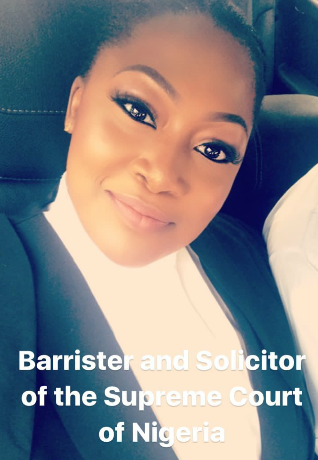 Billionaire daughter, Sade Adenuga is now a ?Barrister & Solicitor of The Supreme Court of Nigeria!? (photo)