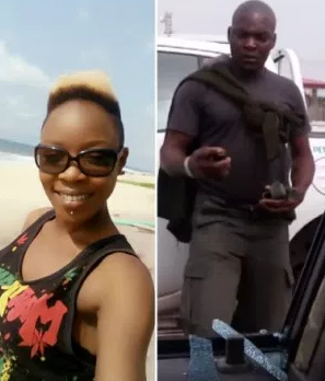 Exclusive update: Police officer that attacked actress, April Jojo Muse, has been dismissed from the Nigerian police force